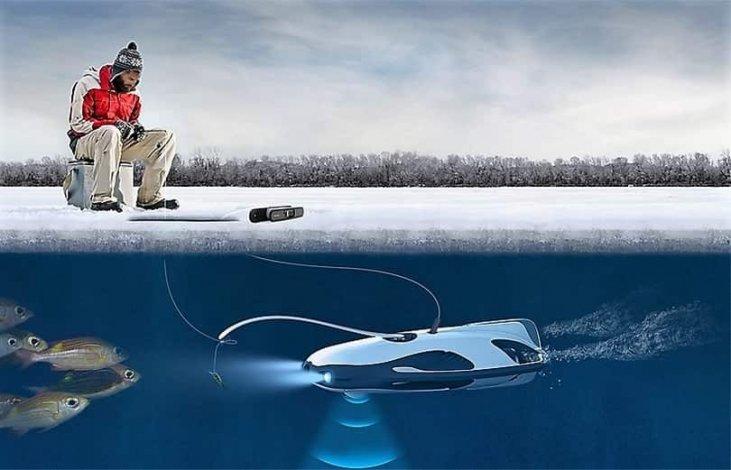 PowerRay на зимней рыбалке
